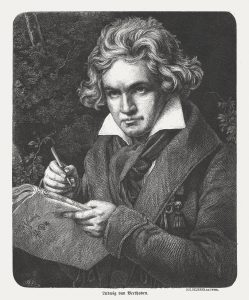 Ludwig van Beethoven (1770-1827), German composer and pianist, published 1869